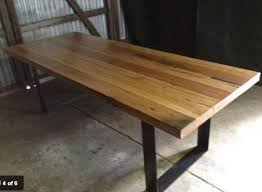 Reclaimed Timber Dining Table Simple Hardwood Dining Table Melbourne For Your Decorating Home