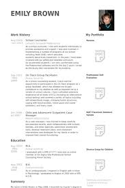 Sample Counseling Resume by Elementary Counselor Resume Best Resume Collection