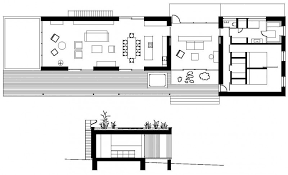 rectangular wooden weekend floor plan house plans building plans