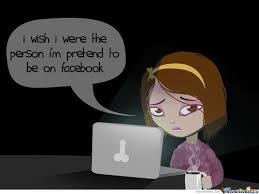 Facebook Girl Meme - annoying facebook girl in real life by gafcomics meme center