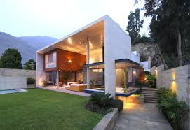 optimum indoor outdoor connectivity s house in lima peru