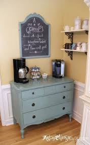 Coffee Nook Ideas Reuse Recycle 10 Upcycled Dressers Coffee Kitchens And Lobbies