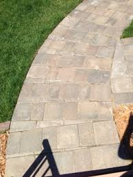 How To Cut Patio Pavers Wondering If My Paver Sidewalk Was Done Correctly