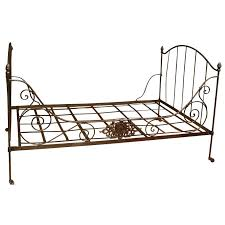 folding day bed french iron daybed army and ikea mattress