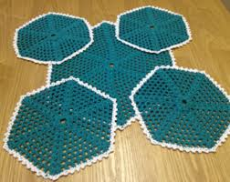 Knitting Home Decor Knitted Coasters Etsy