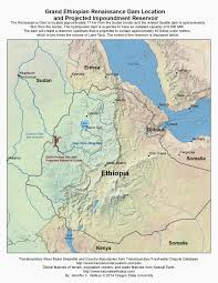 Renaissance Europe Map by The Way Of Water Map Of Grand Ethiopian Renaissance Dam Location
