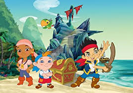amazon disney jake neverland pirates wallpaper mural