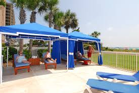 poolside cabanas myrtle beach resorts dunes village resort