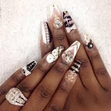 nail designs for pointed nails 2016 nail art styling
