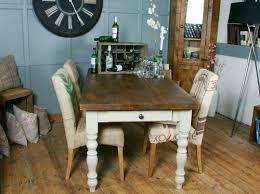 HF Plank Vintage Farmhouse Dining Table HF Plank Dining Room - Farmhouse dining room