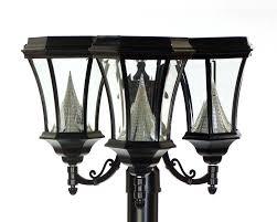 Led Flood Light Bulb Reviews by Solar Powered Post Lights U2013 Chicago