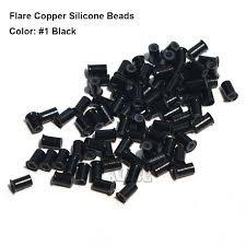 micro rings flare silicone copper micro links 3 4 2 0 6 0mm micro ring