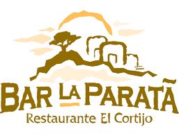 spanish restaurant logo bar la paratta