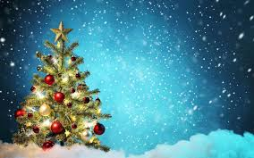 blue u happy holidays wallpapers beautiful real christmas tree