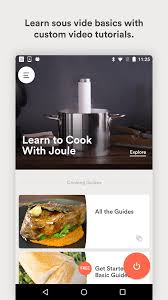 amazon com joule sous vide by chefsteps appstore for android