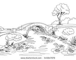 river sketch stock images royalty free images u0026 vectors
