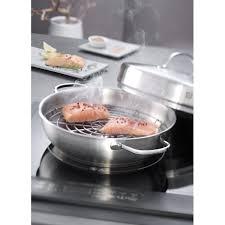 fumoir cuisine fumoir inox demeyere set fumage inox