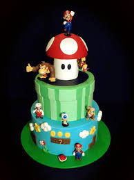mario cake 112 birthday cakes for boys part 2 spaceships and laser beams
