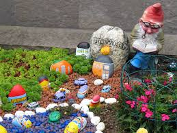 Painted Rocks For Garden by Garden Gnome Free Stock Photo Public Domain Pictures