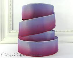 ombre ribbon 43 best cottage crafts ombre ribbons images on