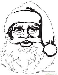 santa claus coloring pages printable kids bratzdressup net