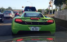 custom mclaren mp4 12c mclaren mp4 12c with a great vanity plate imgur