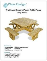 How To Make A Benchless Picnic Table by Picnic Table With Detached Benches Reception Areas Tables And