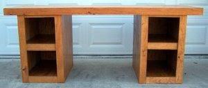free wood desk plans pdf plans beginner woodworking mrfreeplans