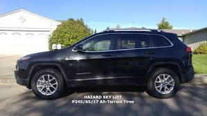 small jeep cherokee results upgraded ad1 latitude with a t tires and hazard sky lift