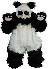 panda halloween makeup scary panda costume scary pinterest panda costumes panda