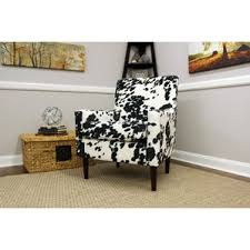 Faux Cowhide Chair Animal Print Accent Chairs You U0027ll Love Wayfair