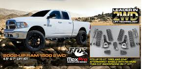 2002 nissan frontier lifted maxtrac suspension truck spindles leveling lowering u0026 lift kits