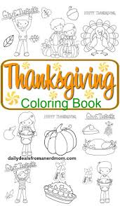 free printable thanksgiving coloring book daily deals