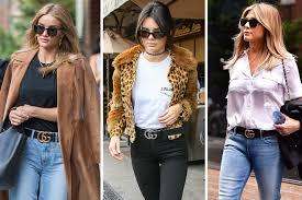 gucci belt every celebrity is wearing lookbook