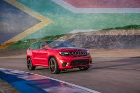 jeep africa jeep grand cherokee trackhawk reportedly confirmed for south africa