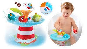 Bathtub Race Track Musical Duck Race Baby Bath Toys Yookidoo