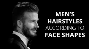 hairstyles for men according to face shape face shape male