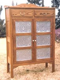 01 180 country style pie safe cabinet woodworking plan