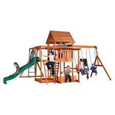 amazon com backyard discovery oceanview all cedar wood playset