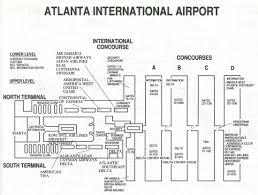 Atlanta Marta Map Atlanta Terminal Mapa Jpg