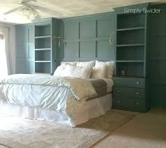 built in cabinets bedroom diy master bedroom built ins hometalk