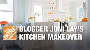 the home depot kitchen design blogger joni lay u0027s kitchen makeover the home depot youtube