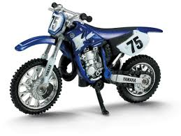 cast of motocrossed amazon com newray 1 32 die cast motorcycle yamaha yz 125 toys