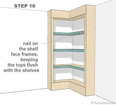 How To Build A Corner Bookcase Step By Step Best 25 Corner Bookshelves Ideas On Pinterest Corner Storage