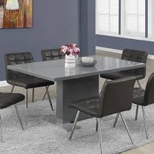 modern grey dining table snow grey modern dining table modgsi dining furniture vancouver