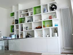 Low White Bookcase Bookcase Floor Bookcase For House Storage Floor Standing