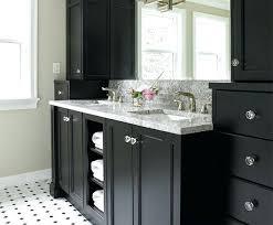bathrooms with black vanities black bathroom vanity tahrirdata info