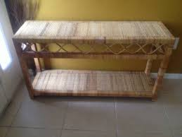 Rattan Console Table 18 Rattan Console Table Carehouse Info