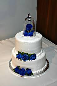 wedding cake royal blue innovative decoration royal blue wedding cake fancy cakes 2 tier