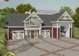 Garage Apt Plans Plan 20083ga Rv Garage With Observation Deck Rv Garage Rv And